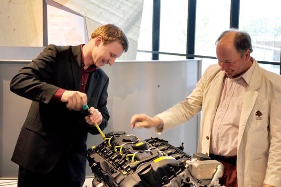 Car Repair Shop- Welios in Wels - Top 10 Interactive Exhibits